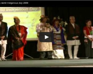 World Indigenous Day Celebration 2009 (Video)
